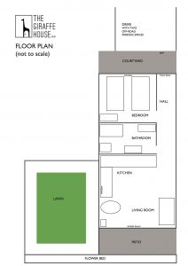 THE GIRAFFE HOUSE Floorplan